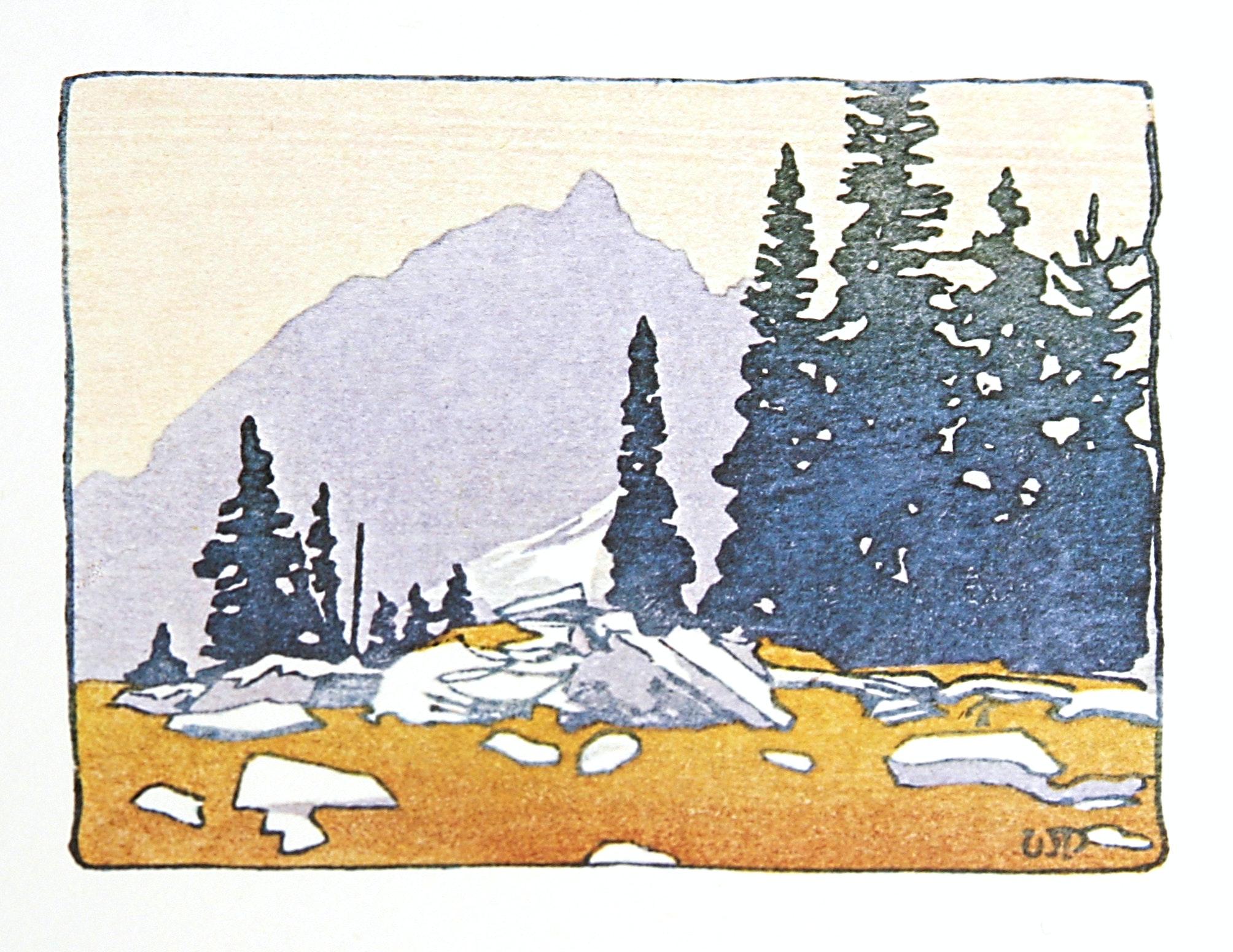 Alpine Meadow by WJ Phillips