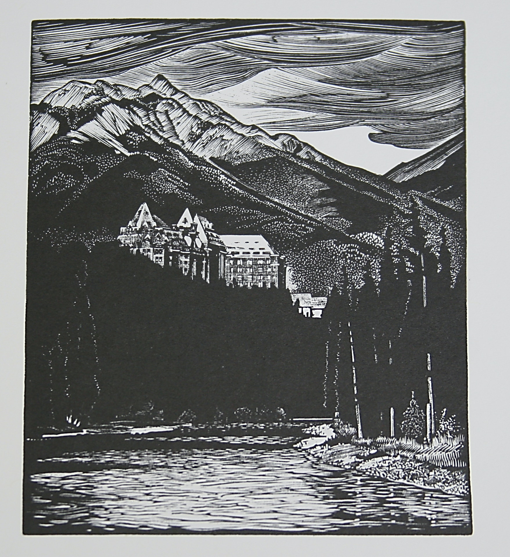 Banff Springs Hotel by WJ Phillips