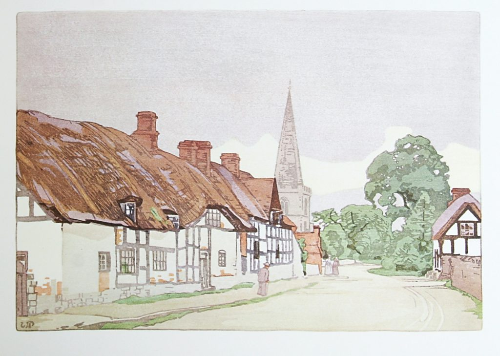 Bredon Village by WJ Phillips