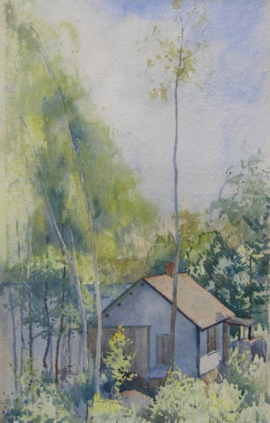 Cottage at Muskoka by WJ Phillips