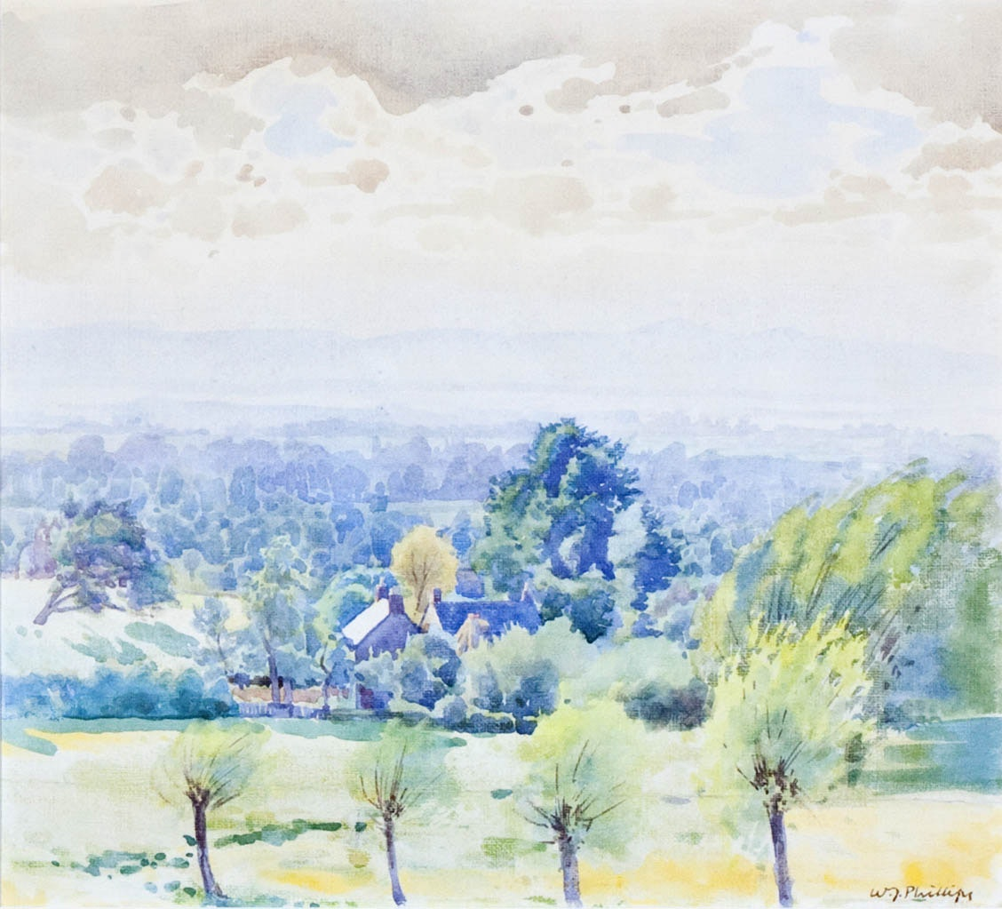 English Countryside by WJ Phillips