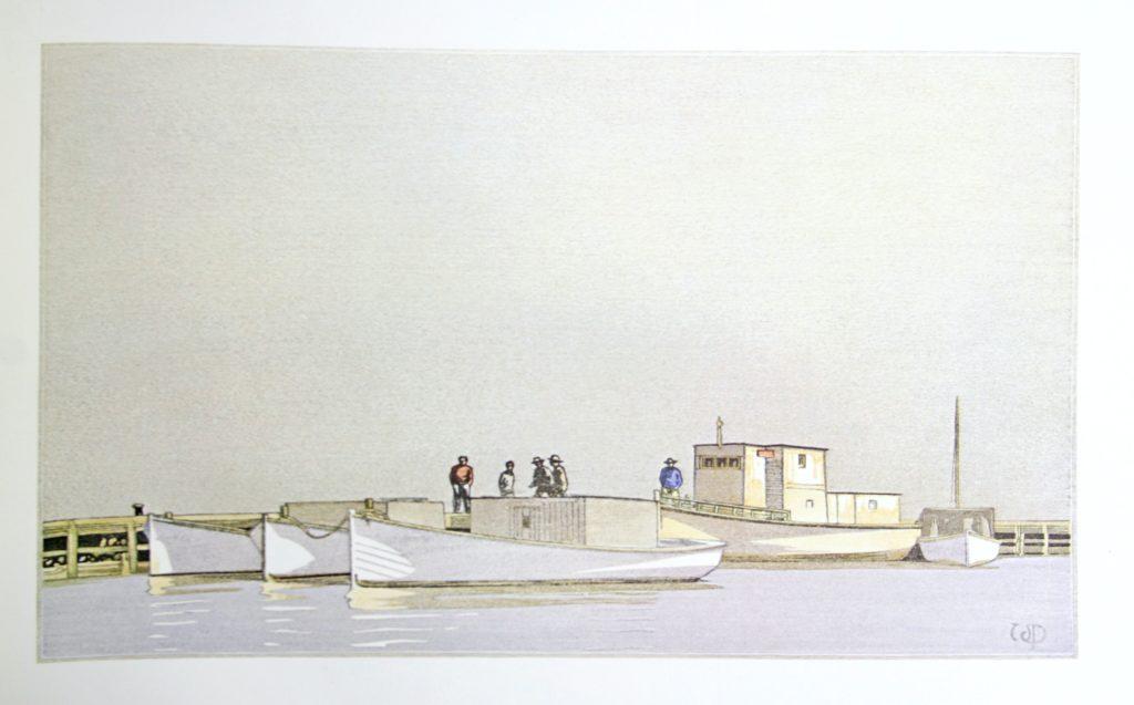 Gimli Harbour by WJ Phillips