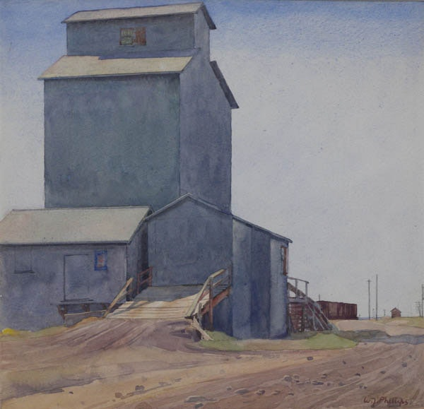 Grain Elevator by WJ Phillips