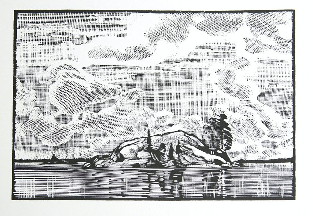Island by WJ Phillips