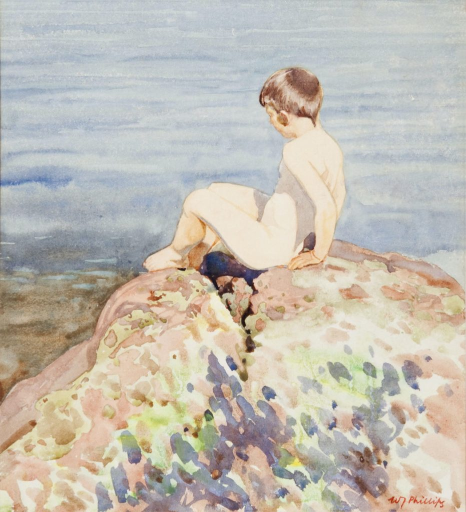 John on the Rock by WJ Phillips