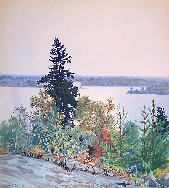 Lake of the Woods by WJ Phillips