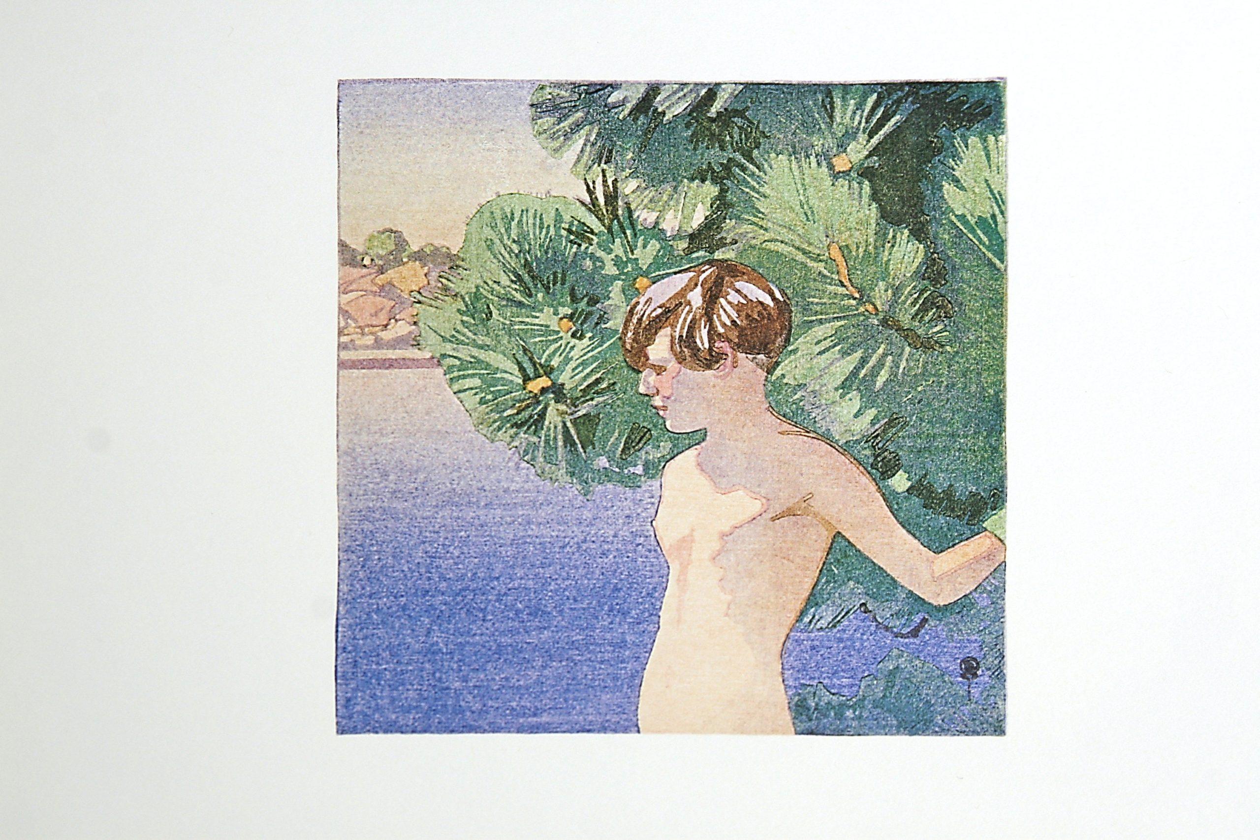 Mary at Muskoka by WJ Phillips