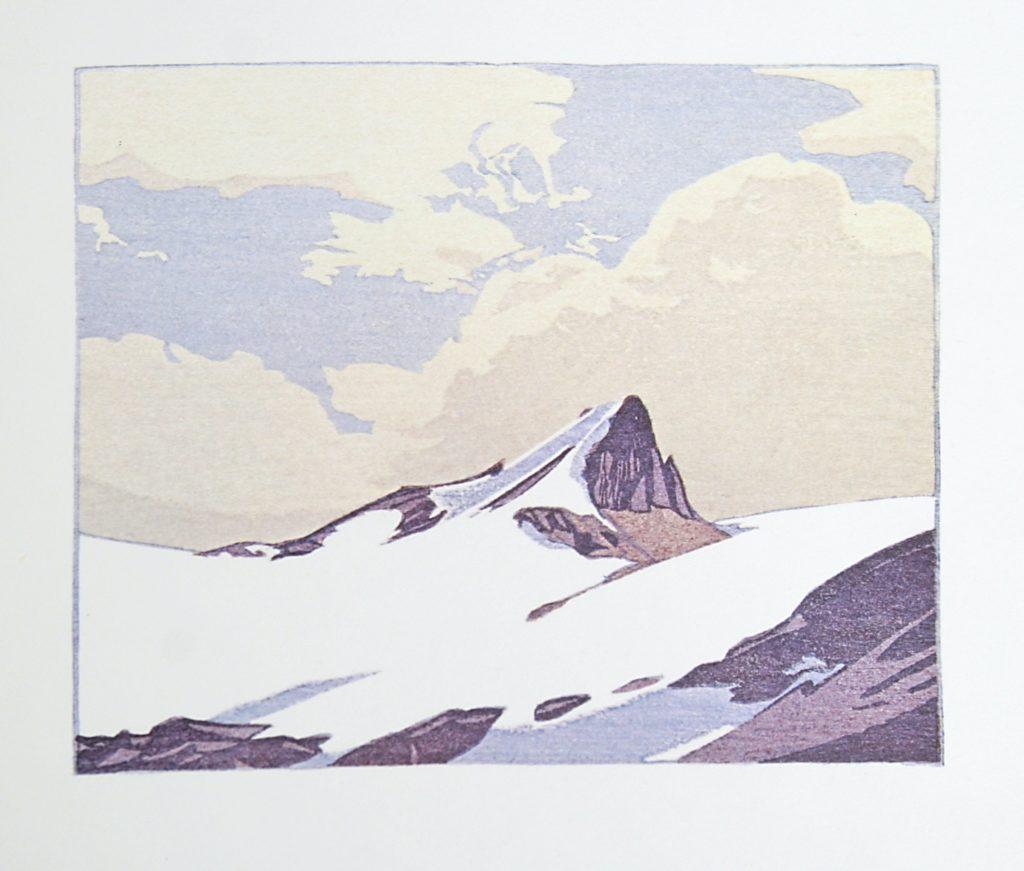 Mount Nicholas by WJ Phillips