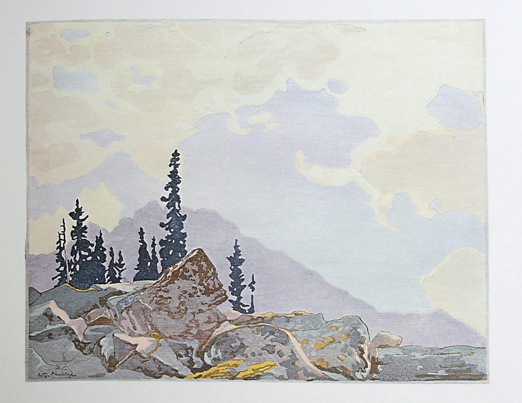 Mount Schaeffer by WJ Phillips