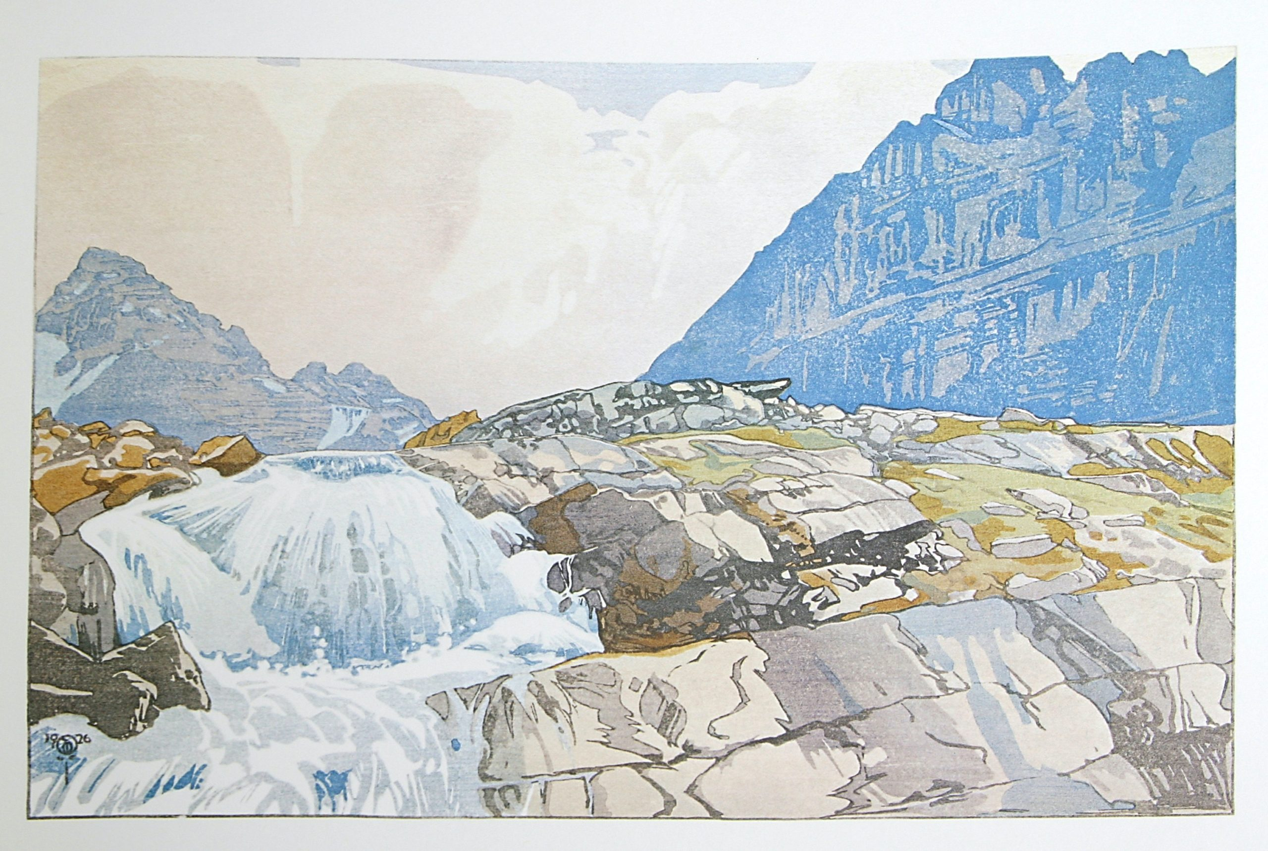 Mountain Torrent by WJ Phillips