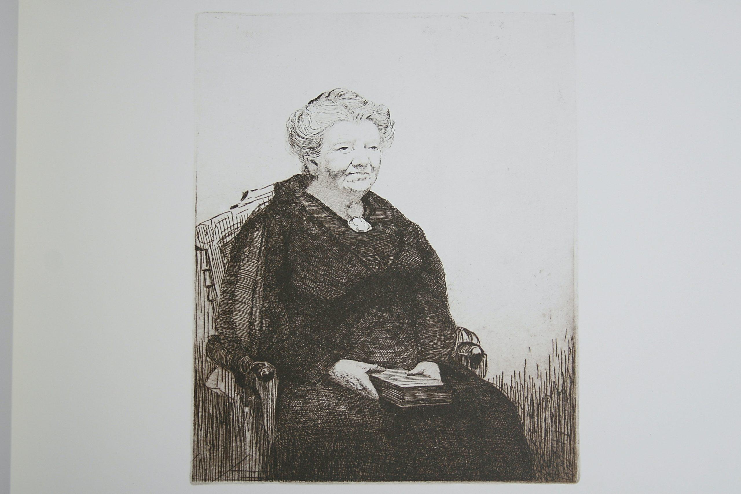 Portrait (Mrs. W.P. Sweatman) by WJ Phillips