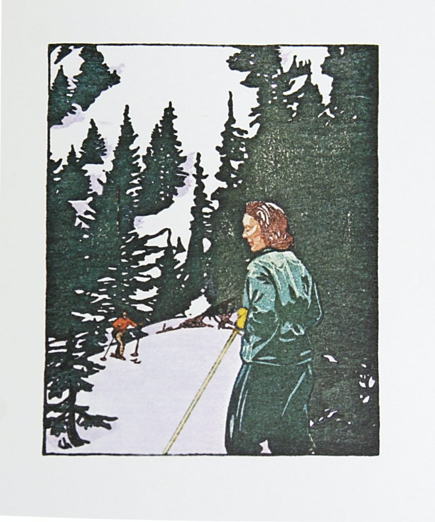 Ski Trail by WJ Phillips