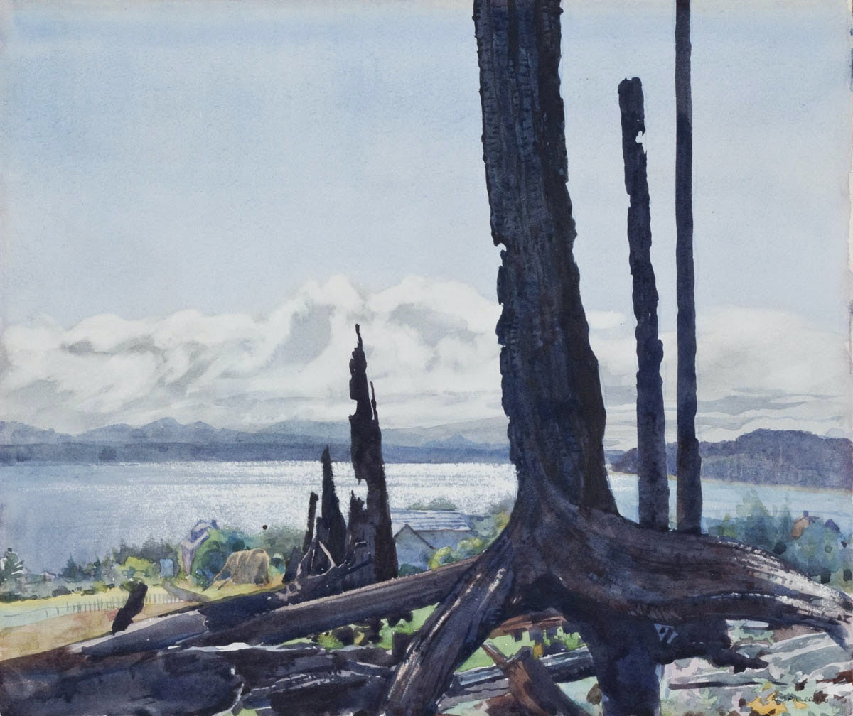 Sointula B.C. by WJ Phillips