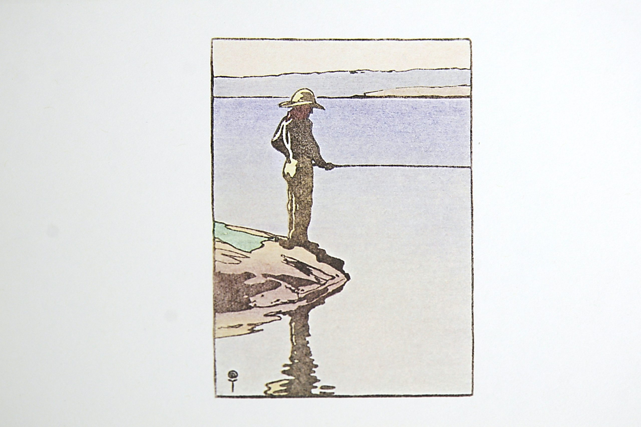 The Angler by WJ Phillips