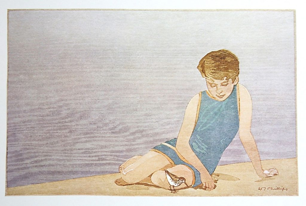 The Beach by WJ Phillips
