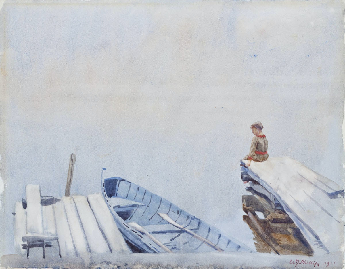 The Dock by WJ Phillips