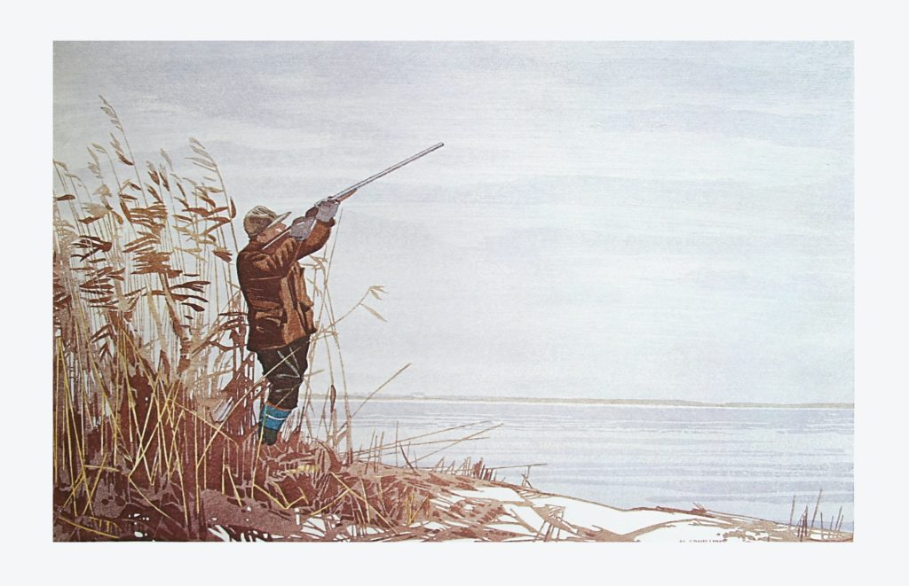 The Duck Hunter by WJ Phillips