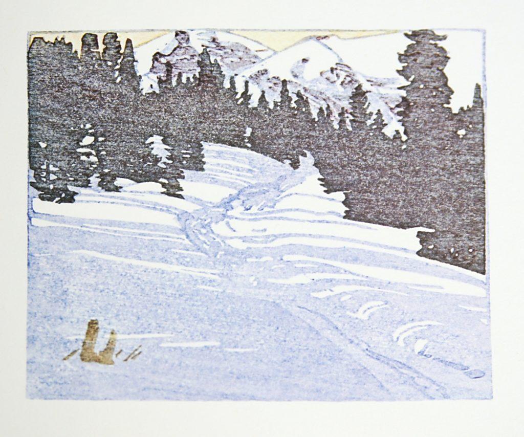 Trail from Skoki by WJ Phillips