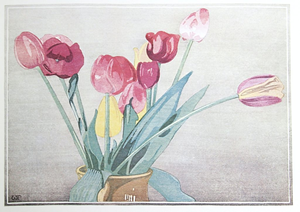Tulips by WJ Phillips