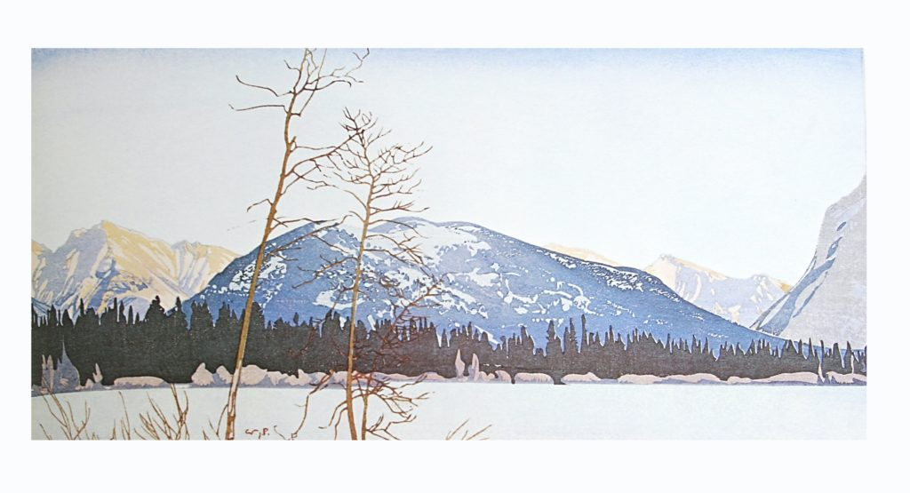 Tunnel Mountain by WJ Phillips