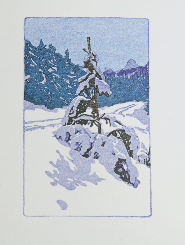 Winter Road by WJ Phillips