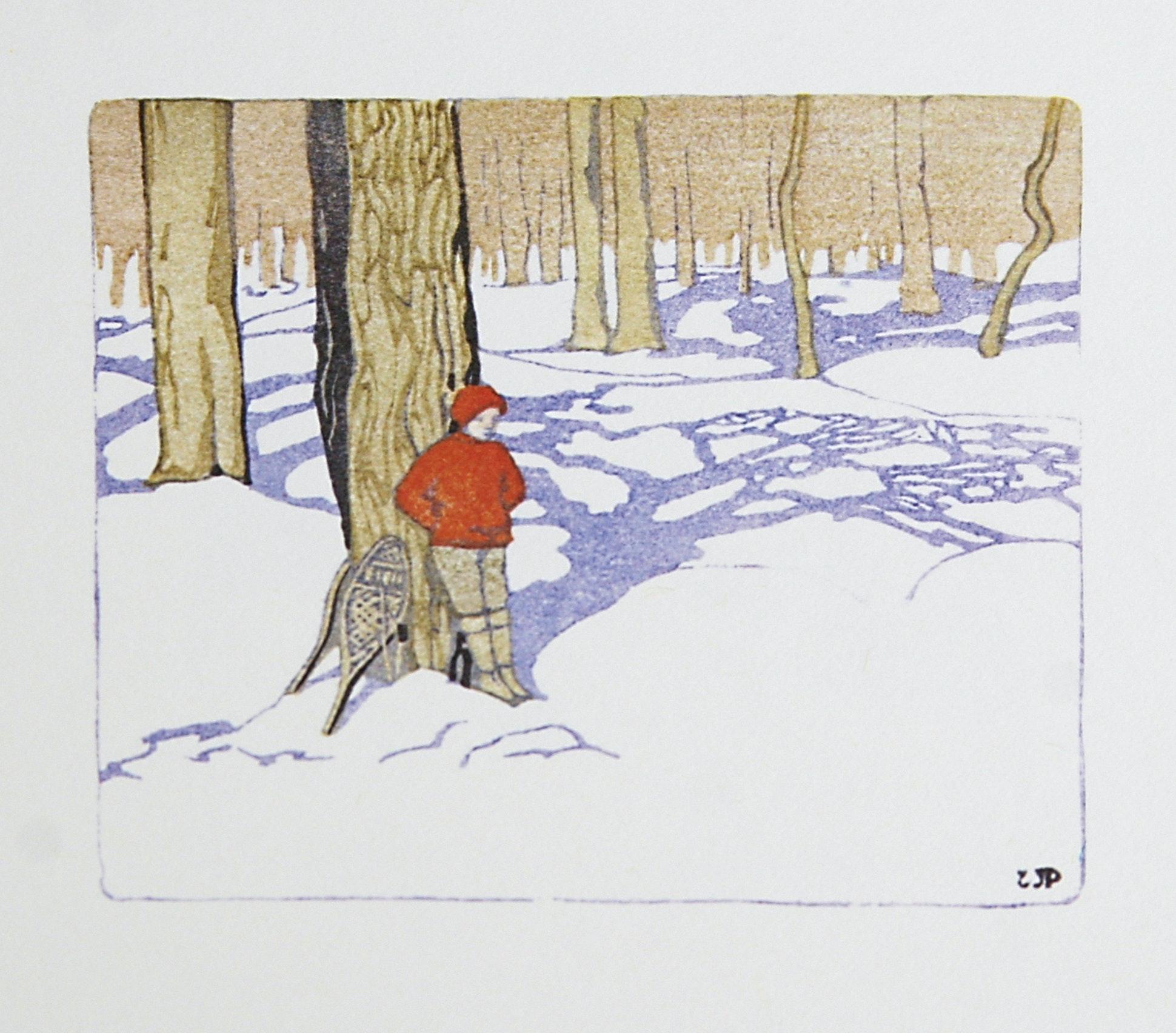 Winter Woods by WJ Phillips